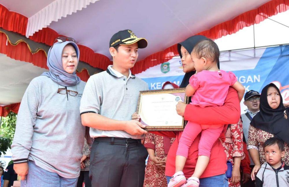 21 keluarga di Kabupaten Trenggalek dinyatakan graduasi mandiri atau keluar dari Program Keluarga Harapan (PKH)