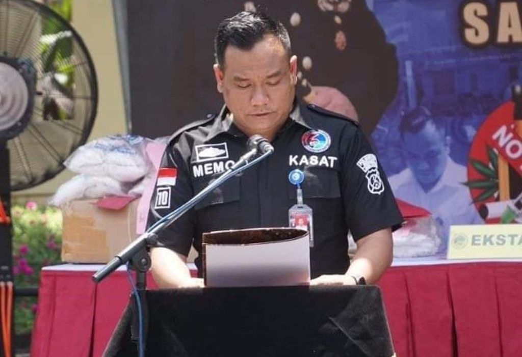 Kasatresnarkoba Polrestabes Surabaya, AKBP Memo Ardian