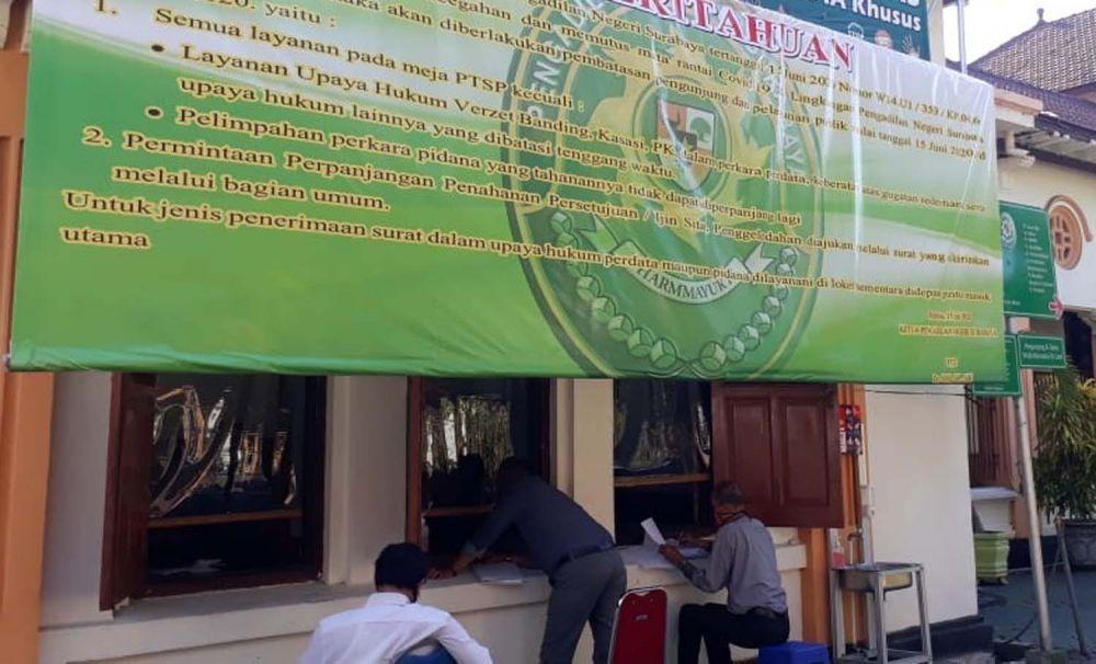 Aktivitas di PN Surabaya