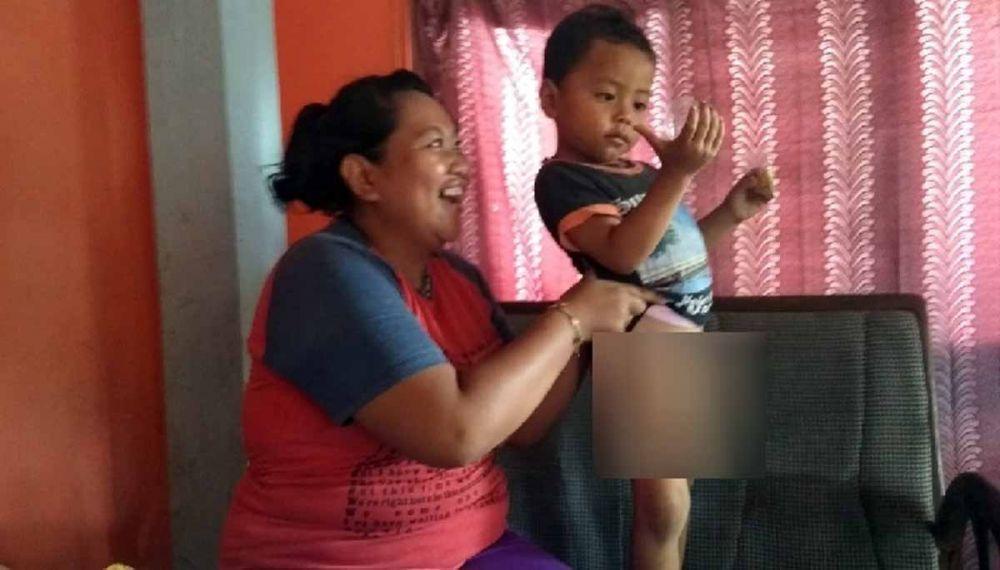 Anak tiga tahun di Banyuwangi diyakini disunat jin