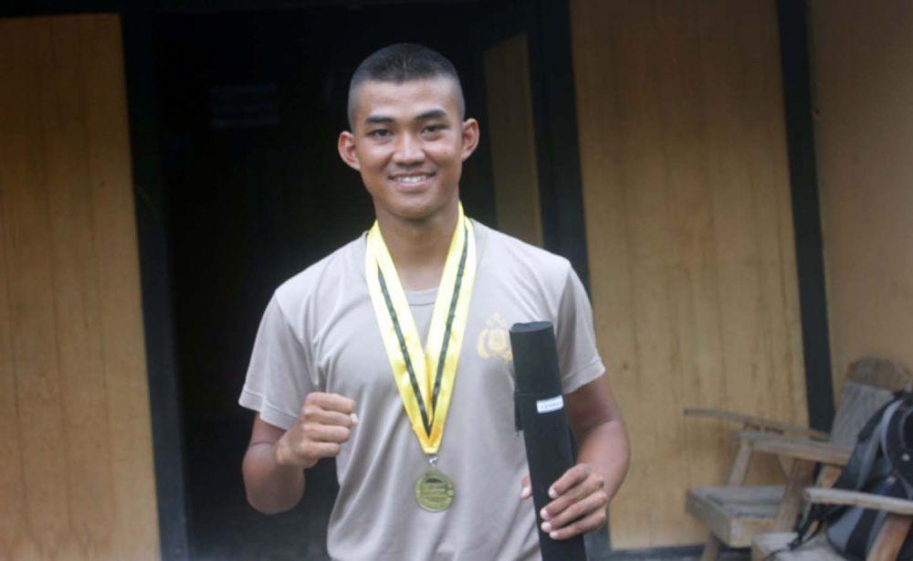 Muhammad Al Azhar menjadi lulusan terbaik Bintara Polri Tahun 2020 di SPN Bangsal, Mojokerto