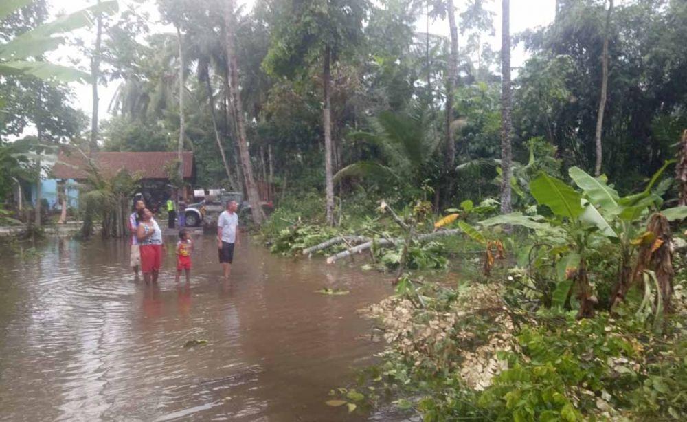 Angin kencang rusak 15 rumah di dua dusun di Banyuwangi