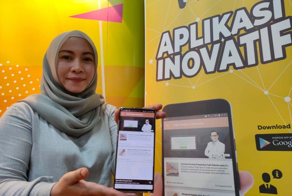 Aplikasi KakiDiabet Indonesia karya Dosen Unair