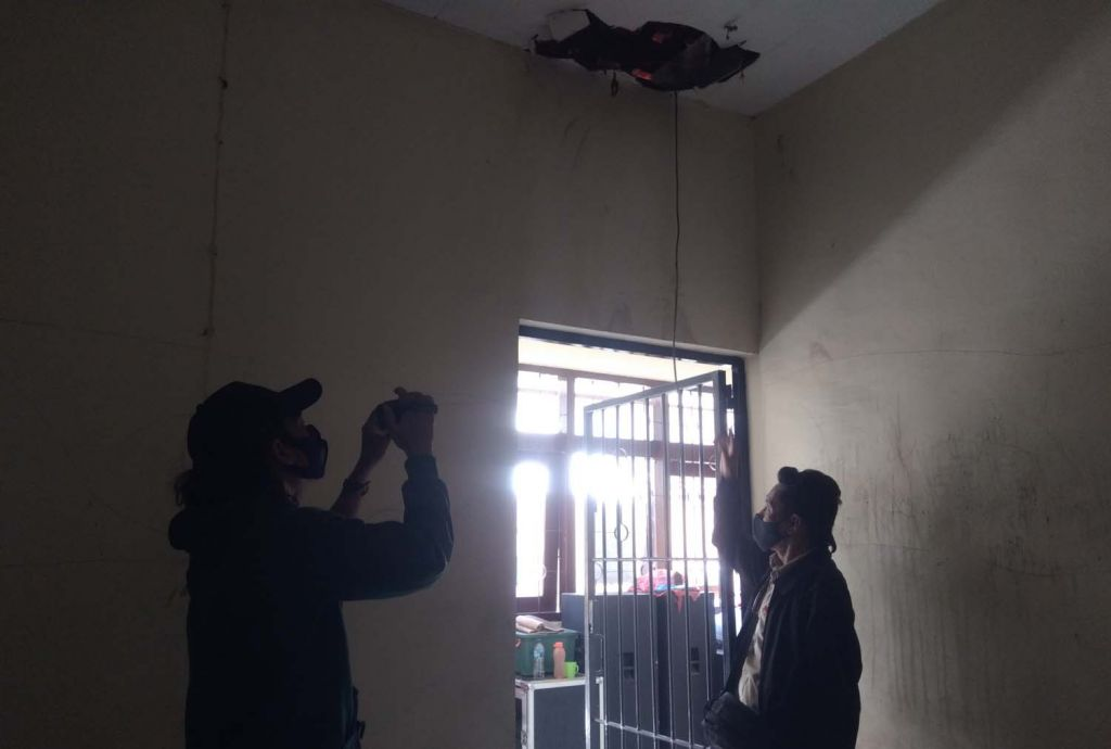 Atap sel di selter Dinas Sosial Kota Probolinggo dijebol ODGJ yang kabur