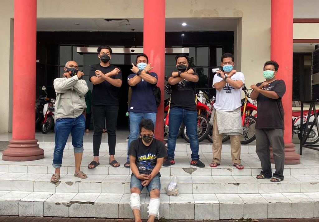 Bandit motor yang bikin resah warga diamankan Unit Jatanras Polrestabes Surabaya