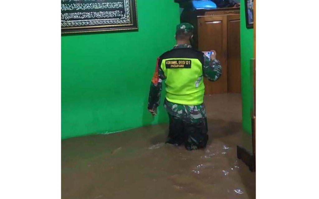 Kondisi banjir di Kota Pasuruan