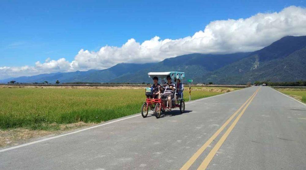 Brown Avenue Taiwan, tempat wisata alam pedesaan