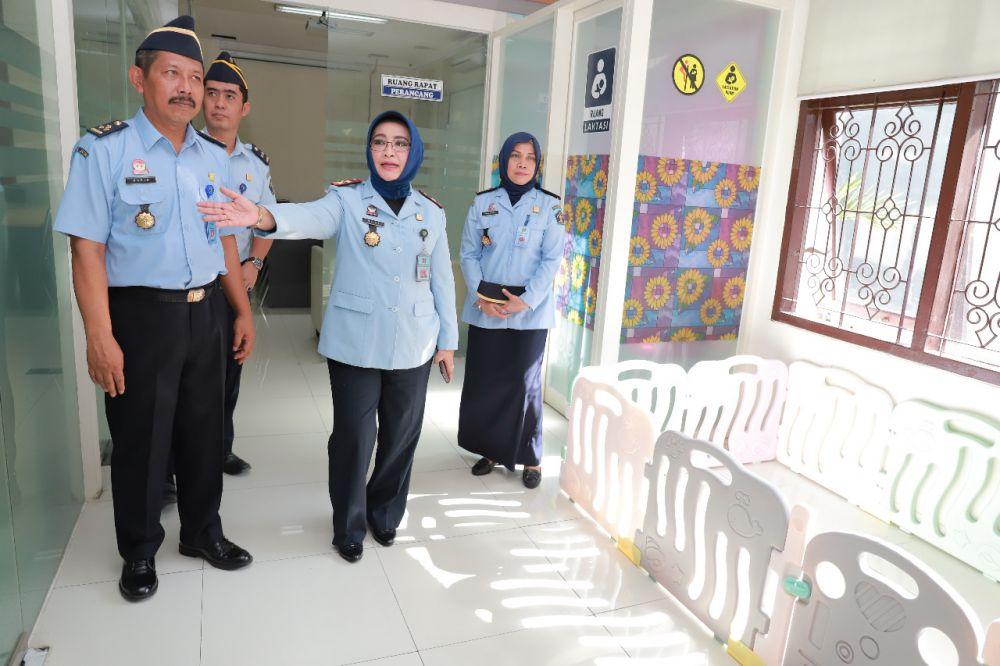 Salah satu ruangan dari layanan berbasis HAM di Kanwil Kemenkumham Jatim
