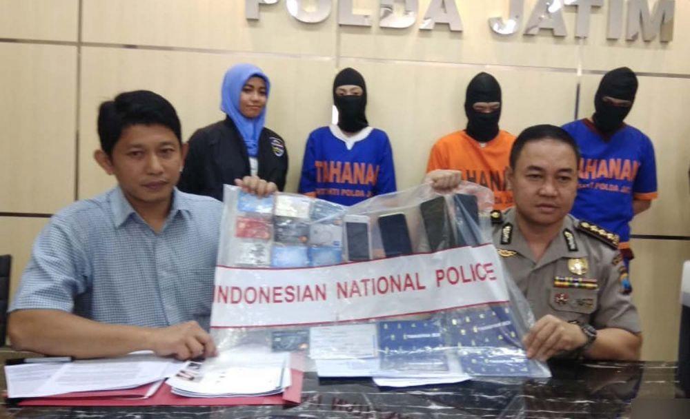 Polda Jatim bongkar kasus penjualan tiket pesawat dan hotel murah hasil carding