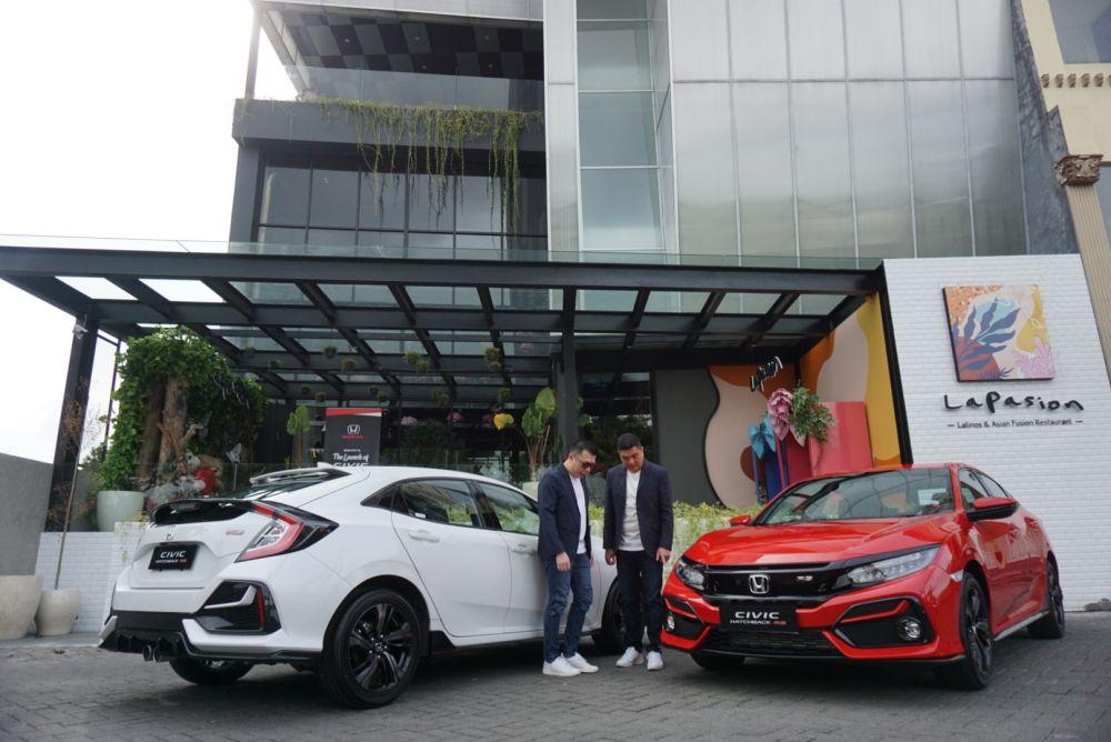 Peluncuran New Honda Civic Hatchback RS di Surabaya