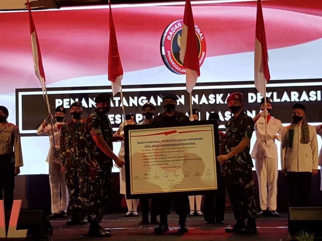 Deklarasi Kesiapsiagaan Nasional BNPT Tahun 2020 di Kota Batu