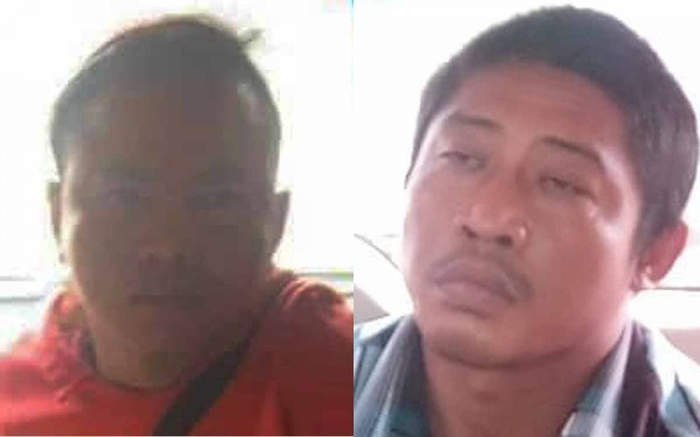 Kolase dua pelaku pembunuhan juragan rongsokan di Mojokerto