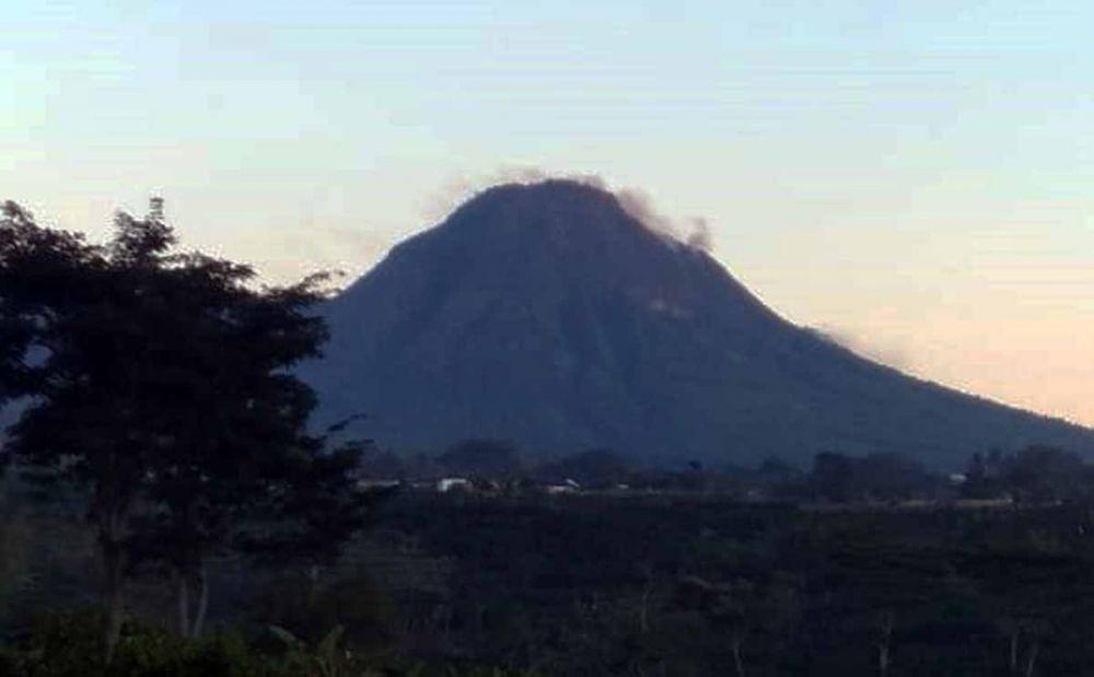 Gunung Panderman pagi ini