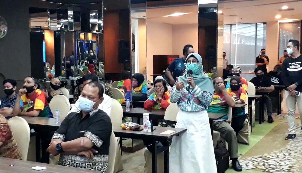 Para guru sekolah swasta se Surabaya dukung Machfud Arifin jadi wali kota