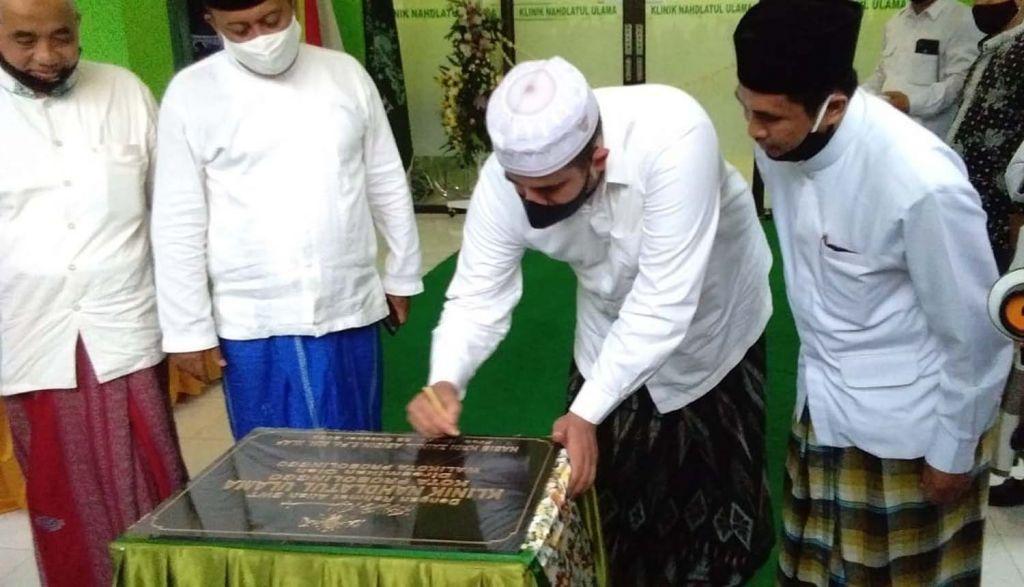 Wali Kota Probolinggo Hadi Zainal Abidin meresmikan Klinik NU