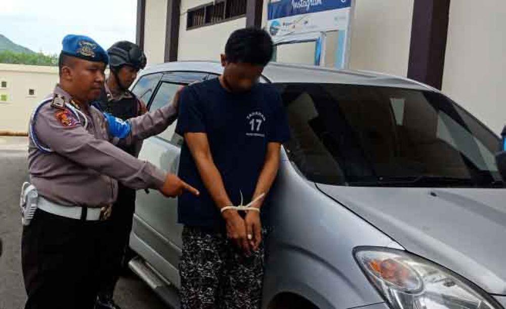 Sapta Adi pelaku pencurian di hotel ditangkap polisi