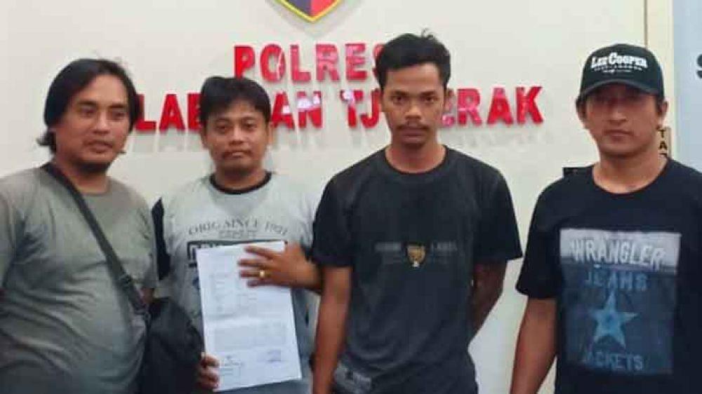 Polres Tanjung Perak menangkap pelaku penadah kendaraan bermotor