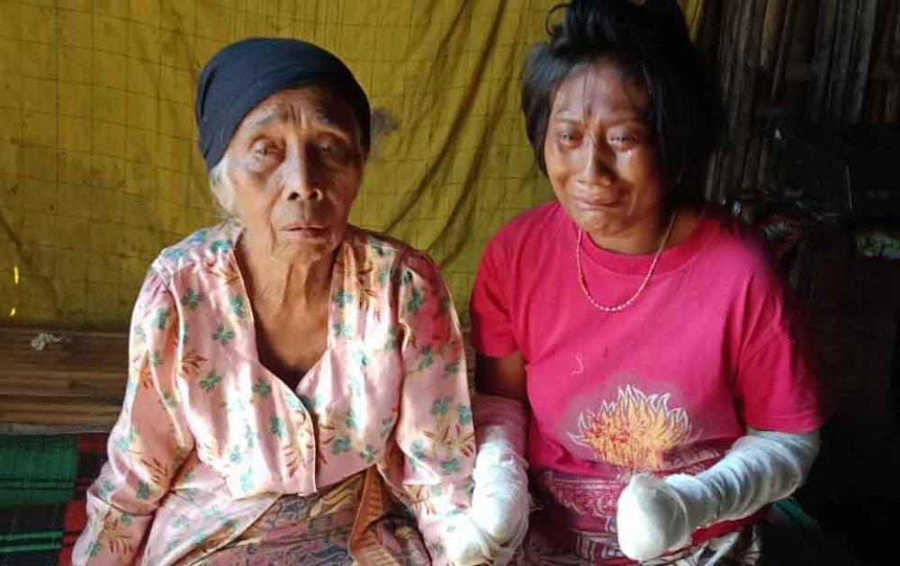 Widji Fitriyani dan Nenek Jirah