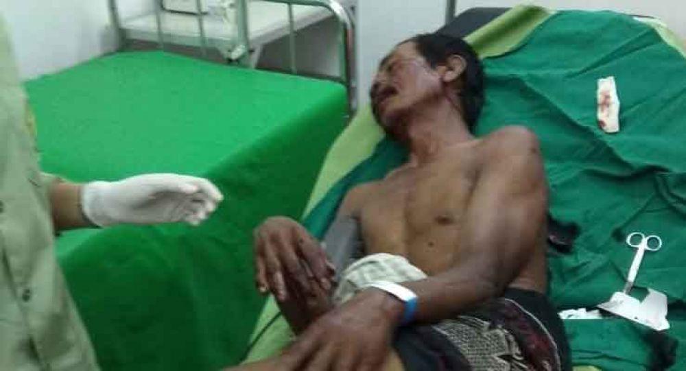 Slamet menjalani perawatan di RSUD dr M Saleh Probolinggo