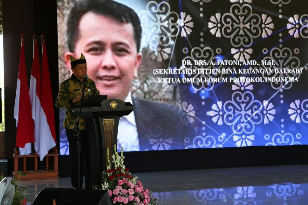 Kemendagri menggelar rapat koordinasi bersama 206 Kepala BPKAD se Indonesia di Banyuwangi