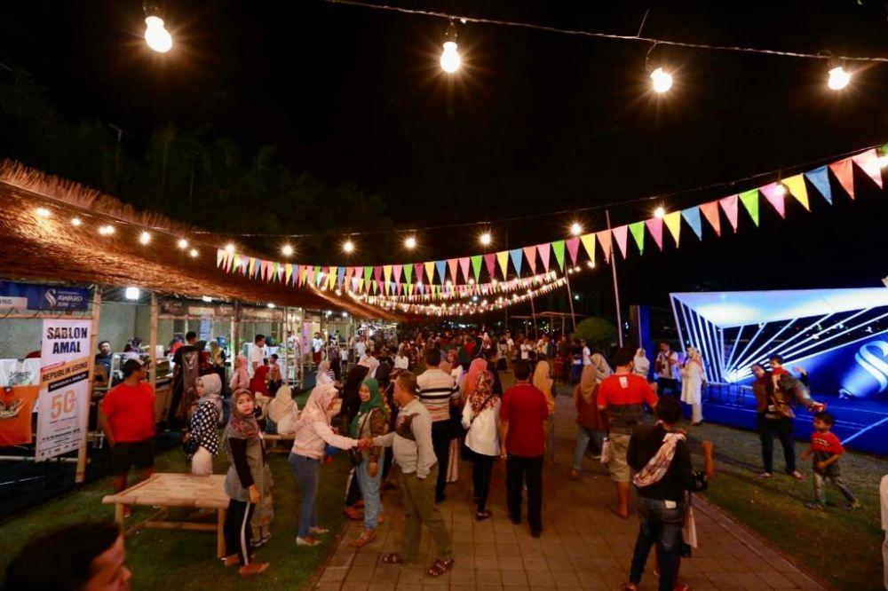 Kemeriahan festival kuliner lokal Banyuwangi