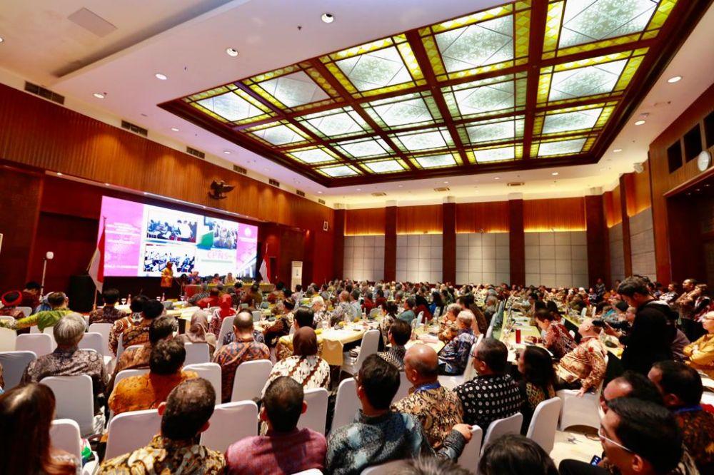 Ratusan duta besar dan perwakilan Indonesia di luar negeri mengikuti rapat kerja Kemenlu di Jakarta