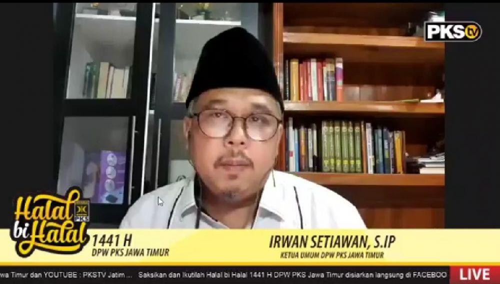 Ketua Umum DPW PKS Jatim, Irwan Setiawan