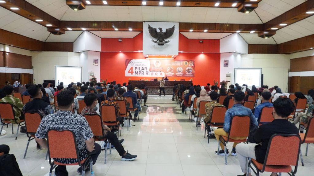 Sosialisasi 4 Pilar Kebangsaan di Untag Surabaya