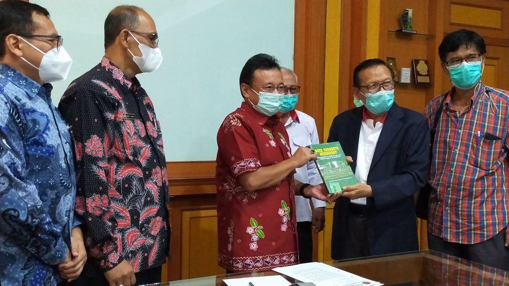 Audensi Perkumpulan Penghuni Tanah Surat Ijo Surabaya dan BPN Jatim