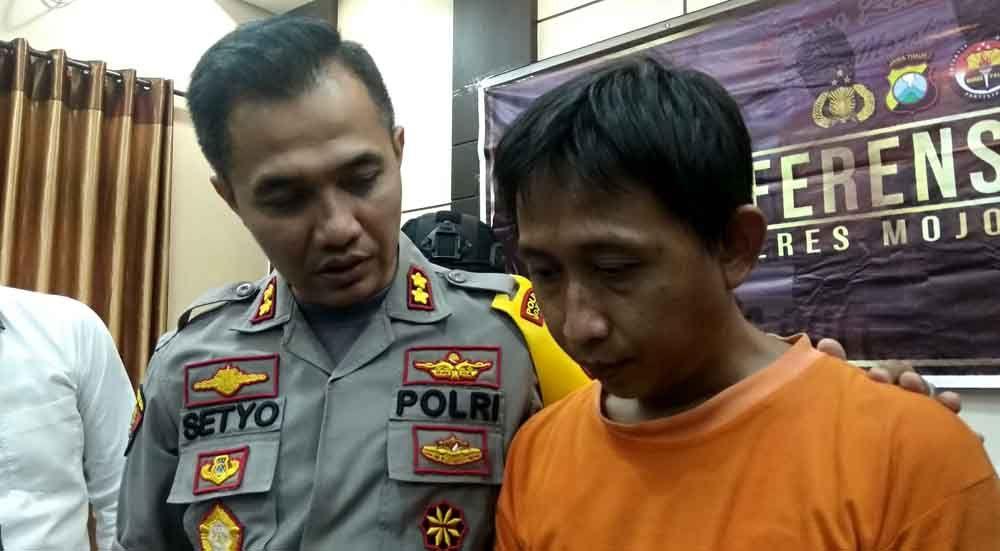 Pelaku teror pamer alat kelamin di Mojokerto