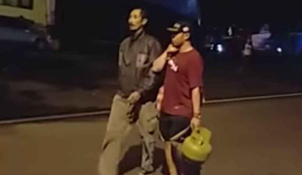 Pencurian tabung elpiji
