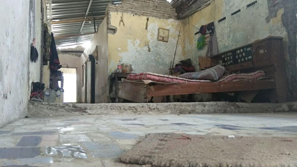 Tempat tinggal Dantok, salah satu pelaku, tempat korban dibunuh
