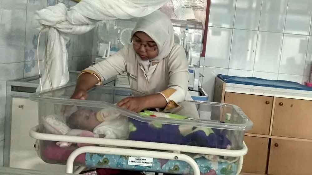 Bayi yang ditemukan dirawat di RS Sidowaras