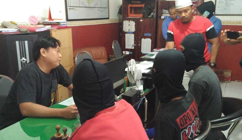 Ketiga pelaku pemerkosa ditangkap Polres Pasuruan Kota