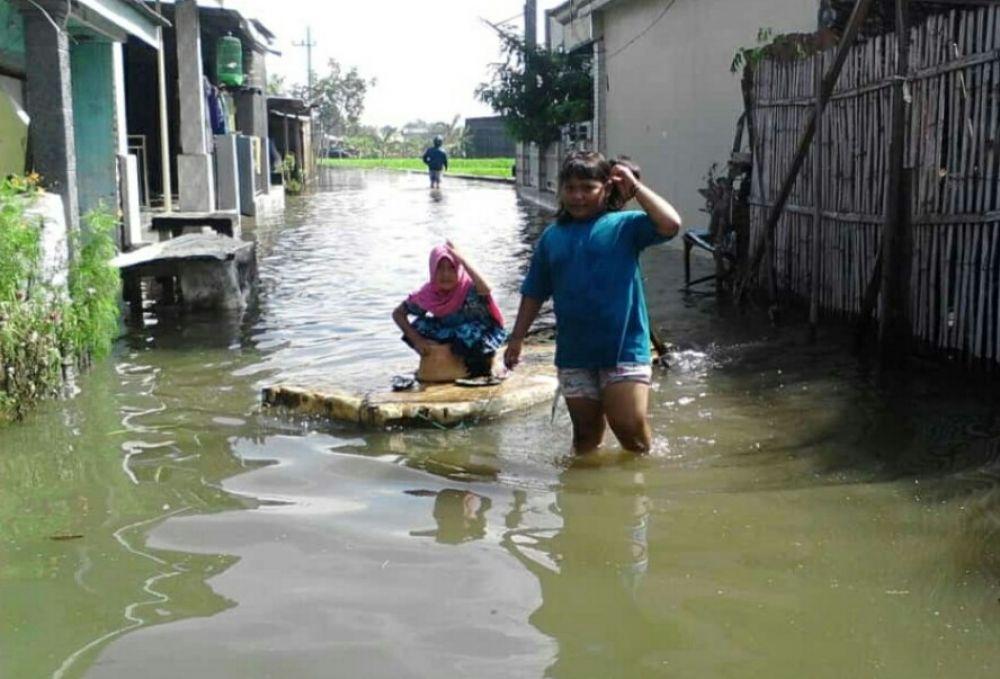 Ribuan warga terdampak banjir di Pasuruan