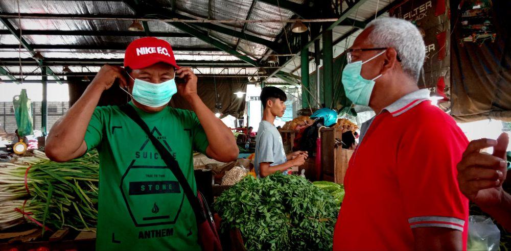 PIOS terus melakukan kampanye sebagai pasar sehat untuk mencegah penyebaran Virus Corona