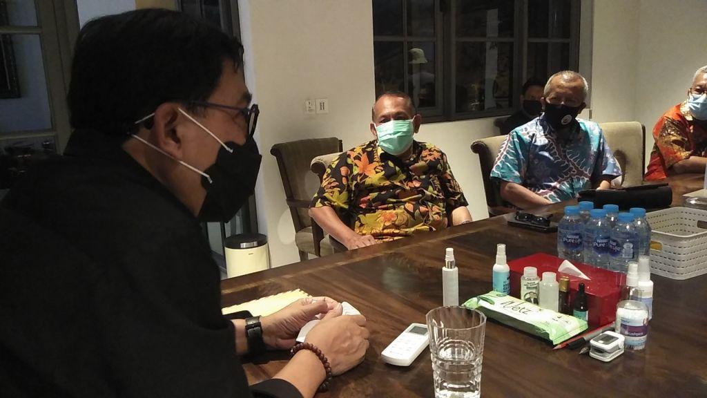 Perkumpulan warga Minang di Surabaya silaturahmi ke kediaman Cawali Machfud Arifin