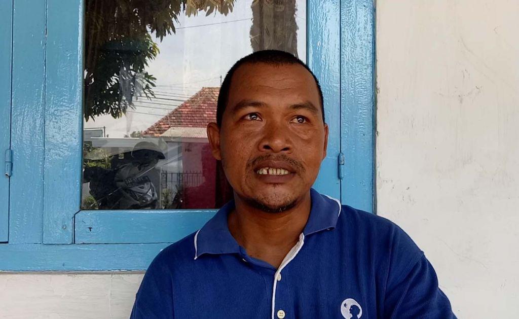 Jakfar, pemilik pohon kurma di Pasuruan yang berbuah lebat