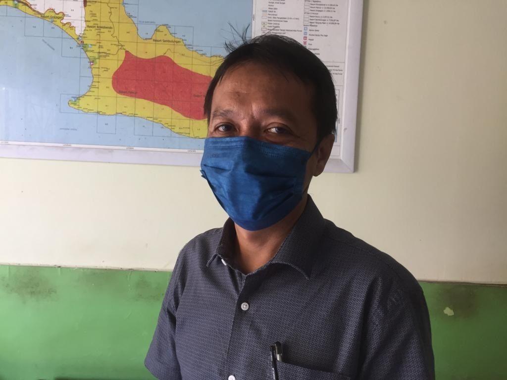 Kepala Seksi Pengelolaan TN Wilayah 1 Alas Purwo Probo Wresni Adji.