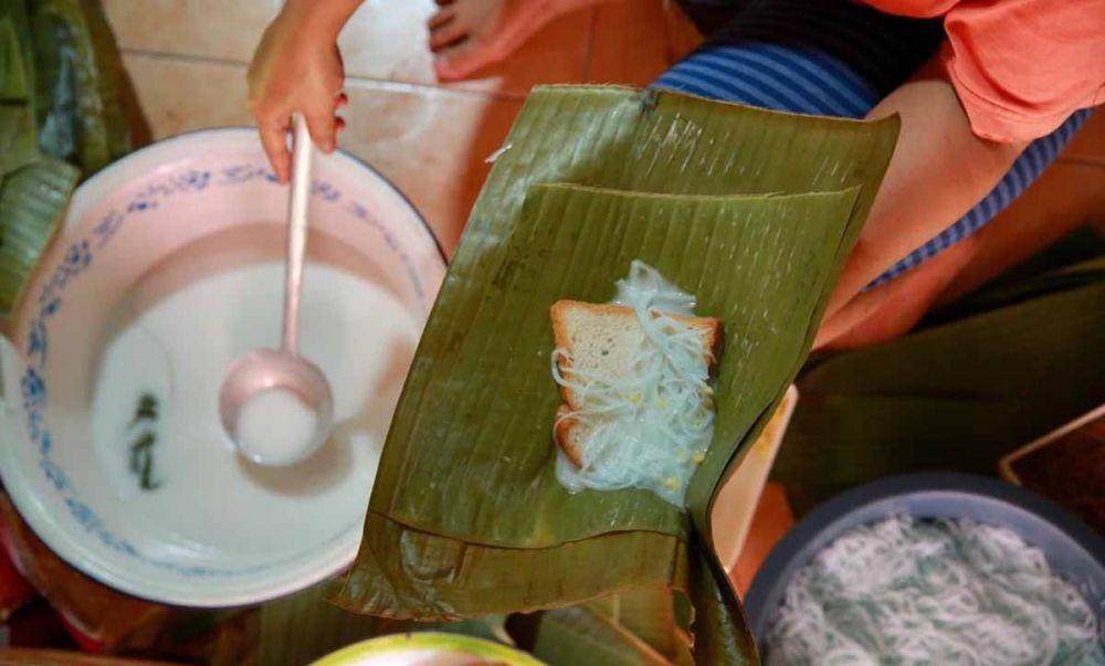 Kue Kopyor Roti, menu berbuka puasa khas Banyuwangi