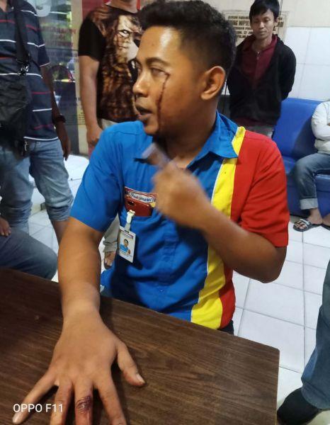 Pegawai minimarket di Surabaya yang ditembak perampok berpistol