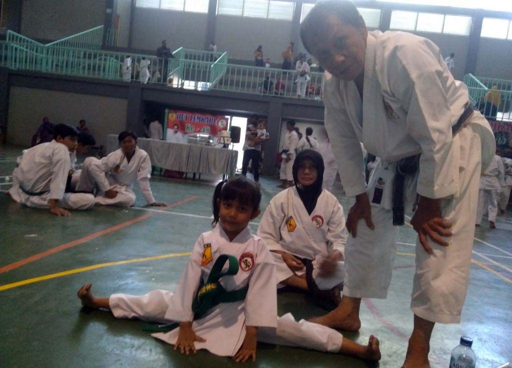 Lili Indah Maharani, atlet cilik Lemkari asal Kota Probolinggo