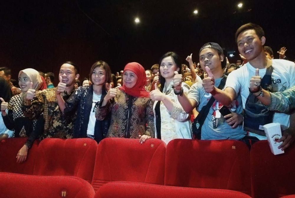 Nobar 'Bali: Beats of Paradise' di XXI Mal Grand City Surabaya