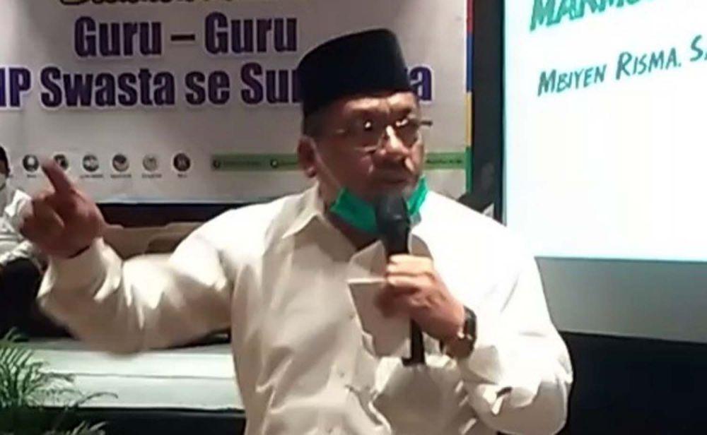 Ketua Badan Musyawarah Perguruan Swasta (BMPS) Kota Surabaya, Moh Kholil