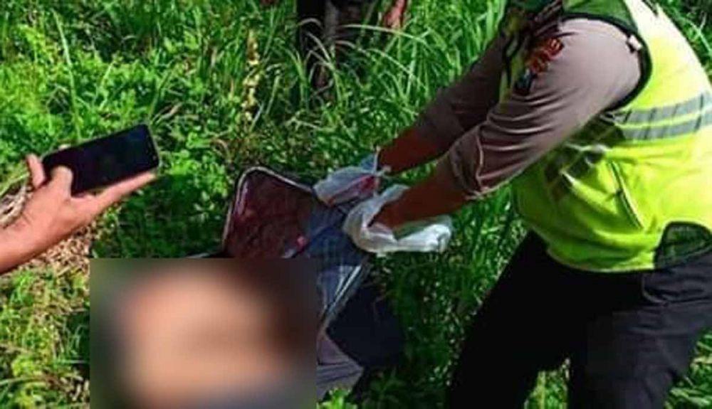 Penemuan mayat tanpa kepala dalam koper di Blitar/ Foto: Dok. jatimnow.com