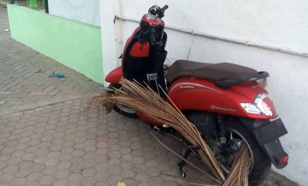 Motor Sura'i, bandit yang ditembak mati polisi ditemukan di Nginden Gang 3, Surabaya