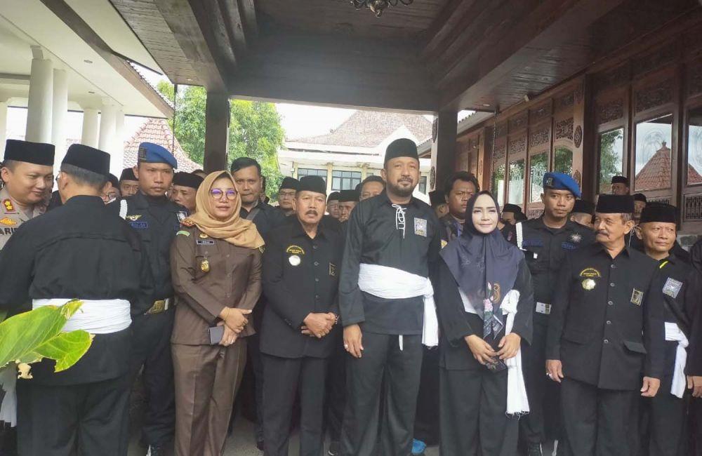 Forkopimda Ponorogo bersama para pimpinan Persatuan Setia Hati Terate (PSHT)