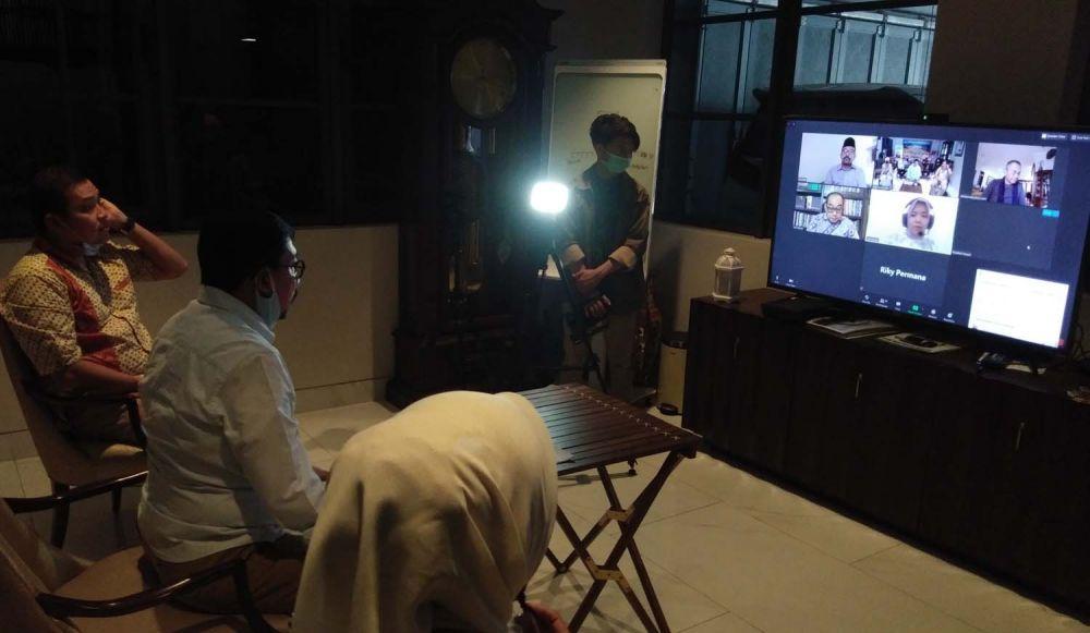 Machfud Arifin gelar pertemuan virtual dengan Dahlan Iskan dan sederet tokoh lainnya