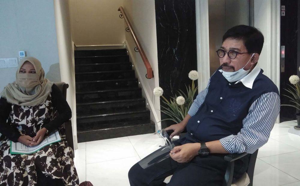 Machfud Arifin saat bertatap muka dengan Perwakilan Forum Komunikasi Taman Pendidikan Al Quran se Kecamatan Sambikerep, Surabaya