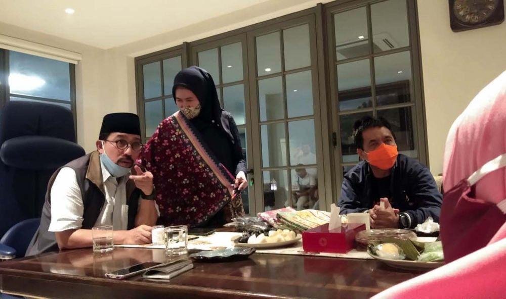 Pengurus Muslimat Nahdlatul Ulama (NU) Kota Surabaya bersilaturahmi ke Cawali Machfud Arifin